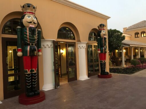 Nutcracker At Polo Club Event Christmas Festive Propshop Rental Dubai UAE
