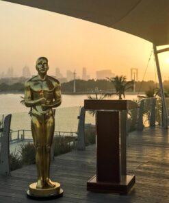 Oscar Statue in Dubai Creek