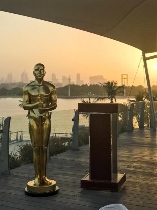Oscar Statue in Dubai Creek