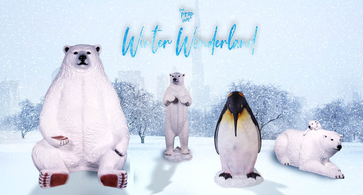, Create your Own Winter Wonderland with Propshop, The Prop Shop, The Prop Shop