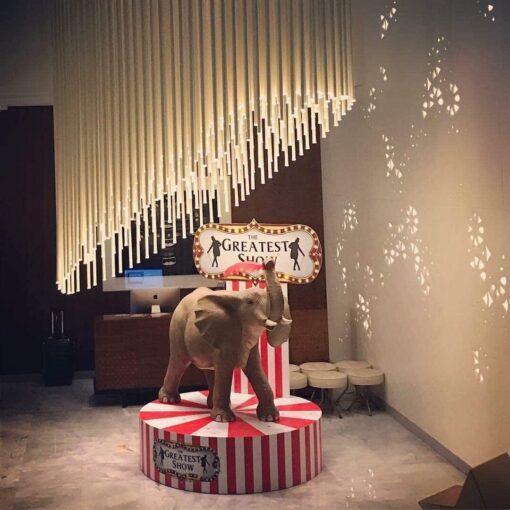 Circus Elephant Props