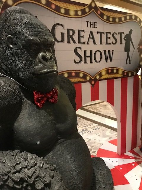 Hollywood Gorilla Circus Props