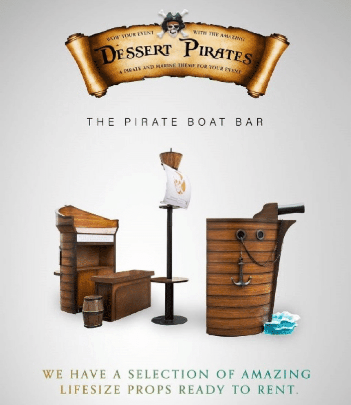 , Pirate Themed Props for your next Event, The Prop Shop