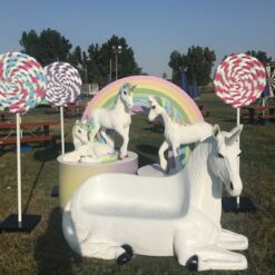 Unicorn and Candy land